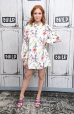 Brittany Snow At AOL Build Series for Almost Family in NY