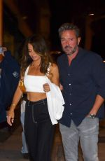 Brooke Burke Arrives at Craig