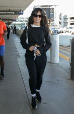 Camila Cabello Arrives at LAX Airport in Los Angeles