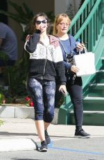 Camila Cabello With Her Mom Hits the Gym in LA