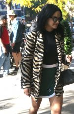 Camila Mendes Headed to the Bowery Hotel in NYC