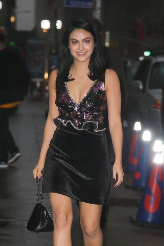 Camila Mendes Out in NYC
