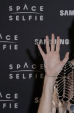 Cara Delevingne At SpaceSelfie photocall at the Samsung KX in London
