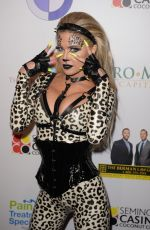 Carmen Electra Attends Halloween costume party in Florida Adds