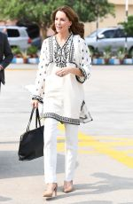 Catherine, Duchess of Cambridge Arrives at Lahore airport in Lahore, Pakistan