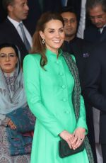 Catherine, Duchess of Cambridge Meets the Prime Minister of Pakistan at his official residence in Islamabad, Pakistan