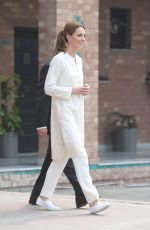 Catherine, Duchess of Cambridge Visits the National Cricket Academy in Lahore, Pakistan