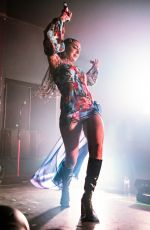 Charli XCX Performs on stage at The O2 Institute Birmingham