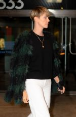 Charlize Theron Seen in Chelsea