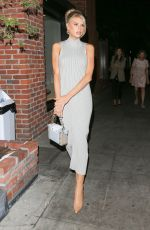 Charlotte McKinney Attending the Kate Somerville event in West Hollywood