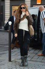 Cheryl Tweedy Seen out and about in Paris