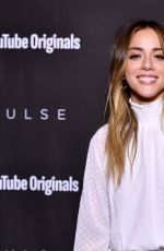 Chloe Bennet At YouTube Originals hosts a special screening of