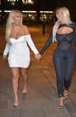 Chloe Ferry Calls Injured Pigeon a Taxi during night in Newcastle