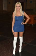 Chloe Ferry During a night on the town with Bethan Kershaw and Tahlia Chung