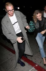 Chloe Grace Moretz With her brother Trevor Moretz were seen arriving for a private