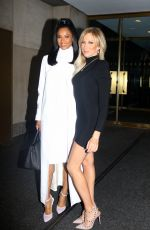 """Ciara and Debbie Gibson at the """"Today"""" show in NYC"""