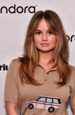 Debby Ryan At SiriusXM in New York City