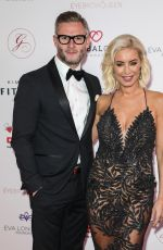 Denise Van Outen Attends the Global Gift Gala at Kimpton Fitzroy in London