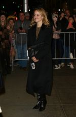 Dianna Agron As she leaves SNL in NY