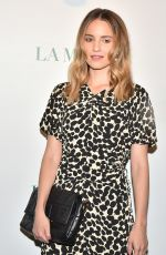 Dianna Agron At La Mer By Sorrenti Campaign in NYC