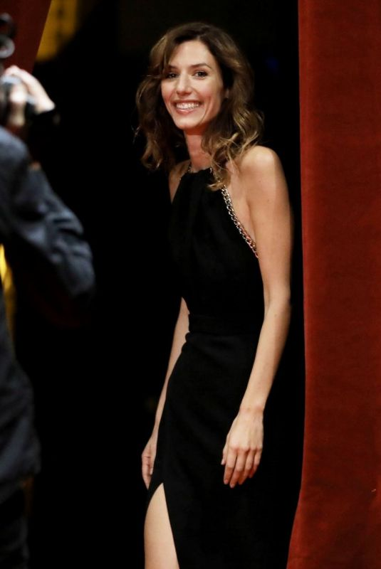 Doria Tillier At Opening ceremony of the 11th Film Festival Lumiere, Lyon (France)