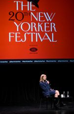 Dua Lipa At a talk with Amanda Petrusich at the 2019 New Yorker Festival