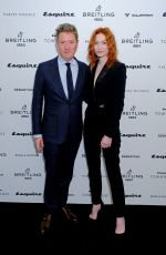 Eleanor Tomlinson At Esquire Townhouse with Breitling Launch in London