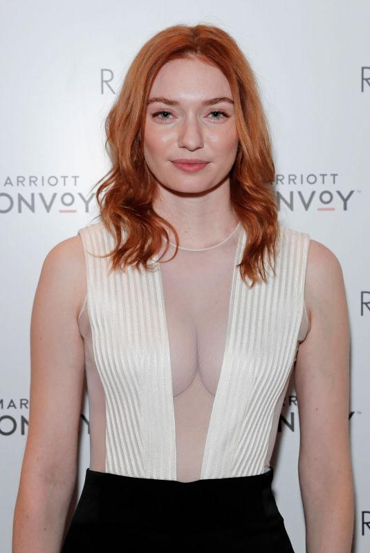 Eleanor Tomlinson At Loyalty & Love Launch in London