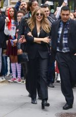 Elizabeth Olsen Exits Build Series in NY