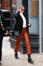 Elizabeth Olsen Out in NYC