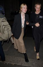 Elle Fanning At The Academy Of Motion Pictures Arts And Sciences 2019 New Members Party in London
