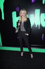 Emily Alyn Lind At 2019 Huluween Celebration at New York Comic Con
