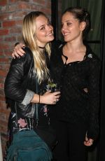 Emily Meade and Margarita Levieva At 2019 Henry Street Social, New York