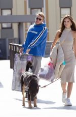 Emily Ratajkowski Shops for pet supplies and Halloween wigs with her husband in Los Angeles