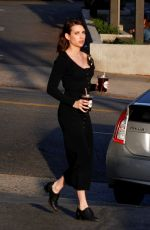 Emma Roberts Out for a coffee run in Los Angeles
