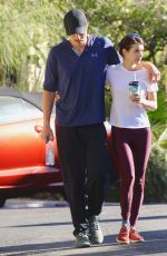 Emma Roberts Out for a morning hike in LA