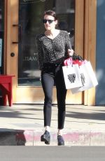 Emma Roberts Shopping in LA