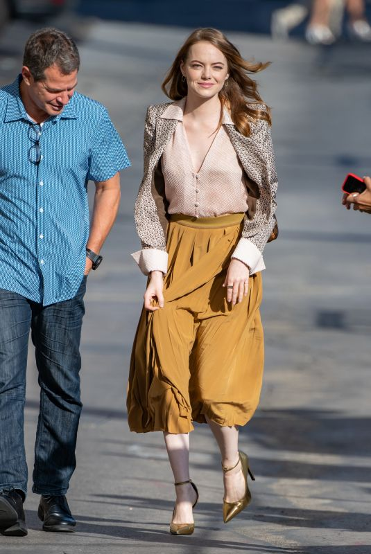 Emma Stone Arriving at