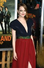 Emma Stone At Zombieland: Double Tap Premiere in Westwood
