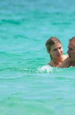 Eugenie Bouchard Enjoyed a sizzling beach date with her new beau Connor Davis in Miami
