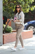 Eva Longoria At Lunch at Honor Bar in Beverly Hills