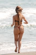Farrah Abraham In barely there bikini at hotel excelsior flashing her assets in Venice, Italy
