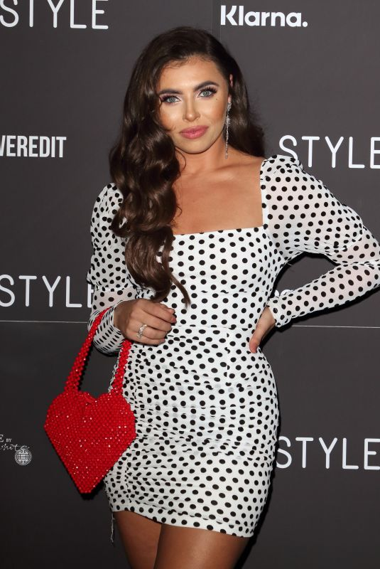 Francesca Allen Attends the In The Style, The Power Edit launch party at Libertine, London