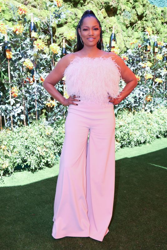 Garcelle Beauvais At Veuve Clicquot Polo Classic, Will Rogers State Park, Los Angeles