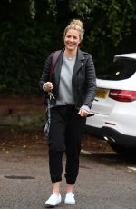 Gemma Atkinson Arriving at Hits Radio Manchester