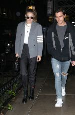Gigi Hadid and Antoni Porowski seen out and about in New York City