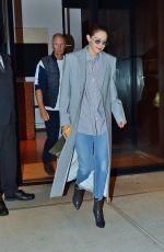 Gigi Hadid Casual chic as she is out for dinner in NY