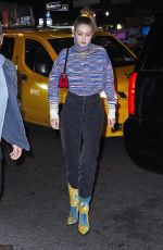 Gigi Hadid Exiting SNL and arriving at after-party in NY