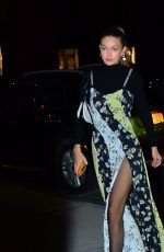 Gigi Hadid Out for a dinner party in NY