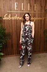 Grace Victoria Cox At ELLE & Ferragamo Hollywood Rising Celebration in West Hollywood